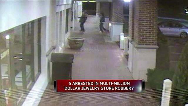 5 Arrests In Home Invasion, Jewelry Store Robbery