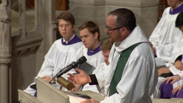 Transgender priest preaches at Washington's National Cathedral