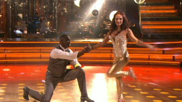 Keyshawn Johnson and Sharna Burgess Booted from 'DWTS'
