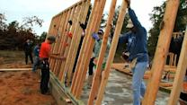 Habitat for Humanity completes first home for Okla. tornado victims