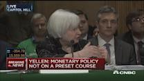 Downturn hasn't made interest rate cut likely: Yellen