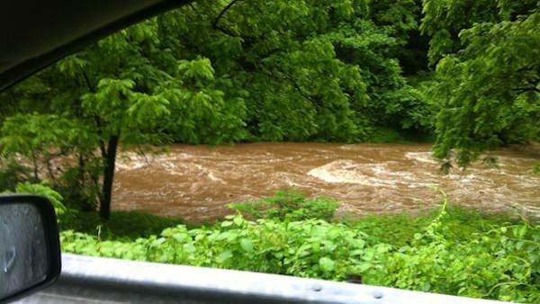 Heavy rain triggers flooding, evacuations in Chester, Pa.