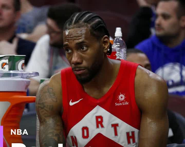 83303da40d2 Raptors insist Kawhi Leonard is OK, but Kyle Lowry's hand 'is not ...