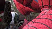 Thanksgiving Day Parade Balloons Come To Life - NYC