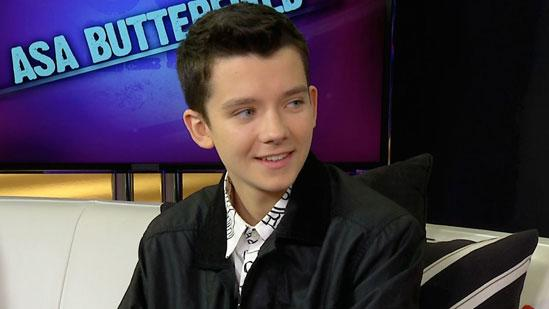 'Ender's Game' Star Asa Butterfield on Hanging With Harrison Ford
