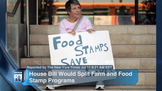 Breaking News Headlines: House Bill Would Split Farm and Food Stamp Programs