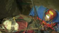 Raw: Man Rescued From Germany's Deepest Cave
