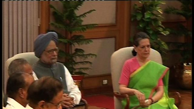Presidential poll: Sonia meets party MPs