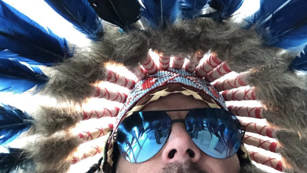 Ricky Martin headdress called cultural appropriation