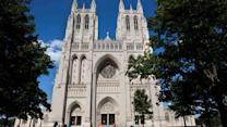Woman arrested in DC cathedral vandalism