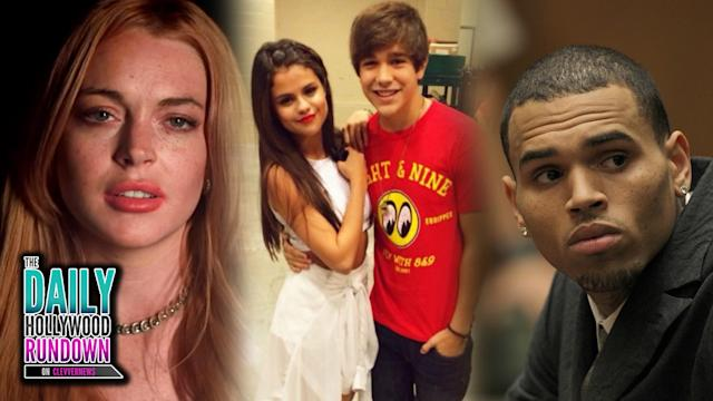 Chris Brown Enters Rehab, Jared Leto's Short Film with Lindsay Lohan, Austin Mahone at Selena Gomez's Show!