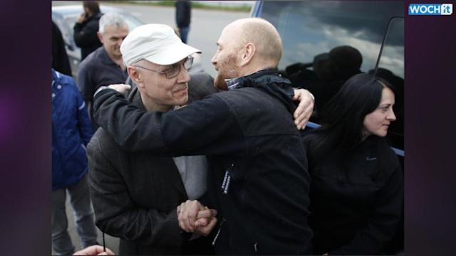 OSCE Observers Held In Ukraine Released