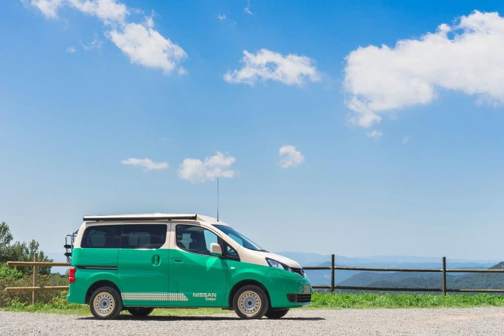 Nissan e-NV200 Camper其實是參考自家電動車e-NV200原有平台,修改調整成露營車該有的標準