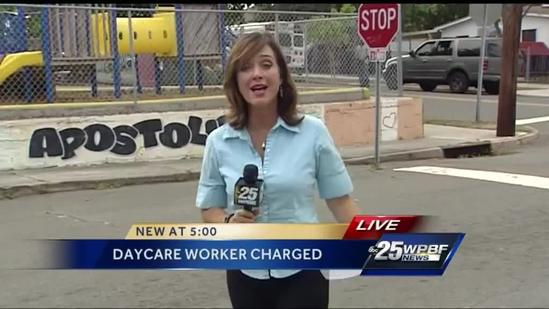 Daycare worker charged with child abuse
