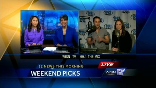 Kidd and Elizabeth's Weekend Picks