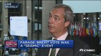 Farage to EU Parliament: Let's be grown up