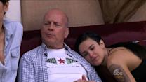 Bruce Willis Surprises Rumer During DWTS Rehearsal