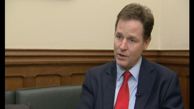 Clegg: The UK will take in 'most vunerable' Syrian refugees