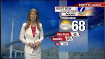 Rain Chances in Holly's Forecast