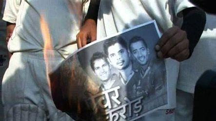 Aspiring cricketers protest against fixing, burn posters