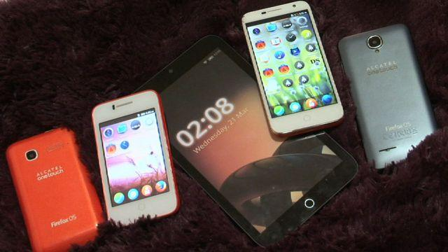 Alcatel One Touch Fire series (Firefox OS)