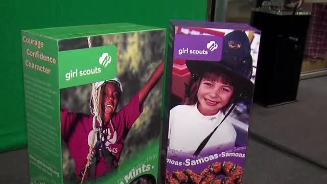 Girl Scouts Dessert First