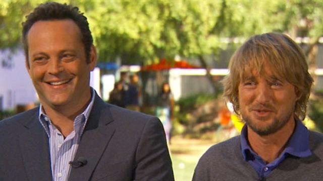 Vince Vaughn, Owen Wilson Give Tour of Google HQ