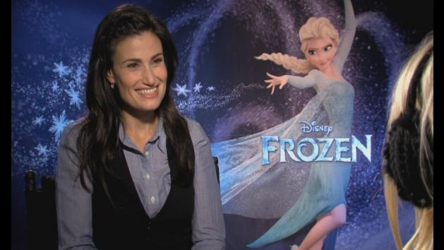 Frozen's Idina Menzel on real-life special powers
