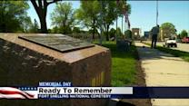 Family, Friends Commemorate Memorial Day At Ft. Snelling Nat'l Cemetery
