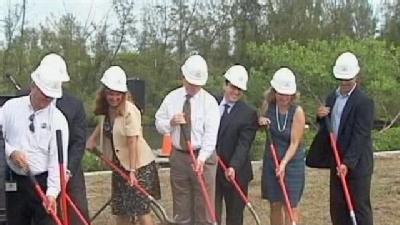 Groundbreaking Ceremony Held For Jupiter Waterfront Project