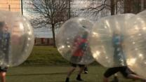 Zorb Football Puts New Spin on Soccer