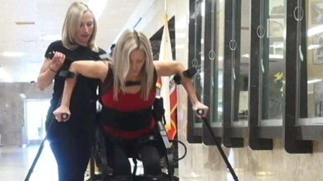 Bionic Suit Helps Paralyzed Patients Walk Again