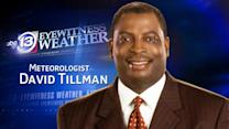 David Tillman Friday weather forecast