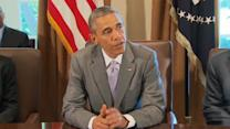 Obama meets with Cabinet, says he is disappointed with congress