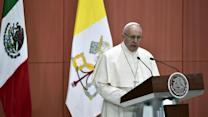 Pope Urges Mexican Officials to Fight Corruption, Crime