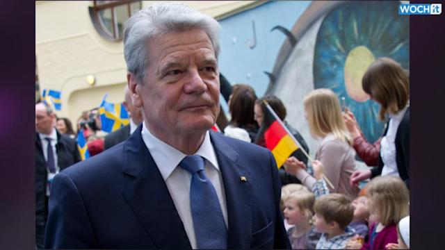 President Urges Germany To Take More Military Responsibility