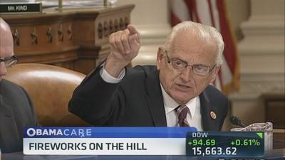 Rep. Pascrell's testy exchange over Obamacare
