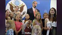 John Kerry Europe Trip Courts World Support For Syria Strike