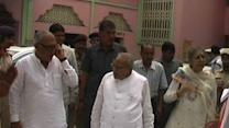 Hooda, Ambika Soni visit Haridwar to review condition