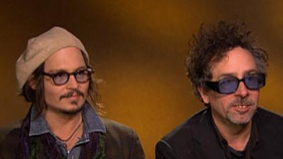 Johnny Depp And Tim Burton On 'Alice In Wonderland'