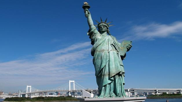 WOW- Statue Of Liberty's Index Finger Is 8.1 Inch Long