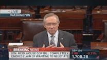 Reid: I'm very disappointed with Boehner