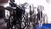 Airport wheelchair abusers exposed
