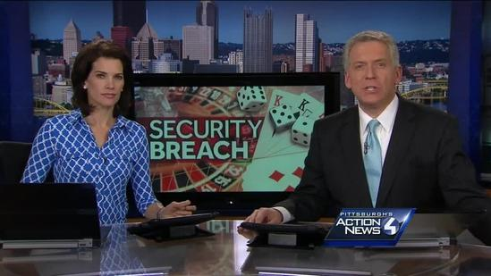 Security breach at eastern Pa. casino effects Pittsburgh residents