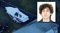 Bombing suspect hospitalized in serious condition