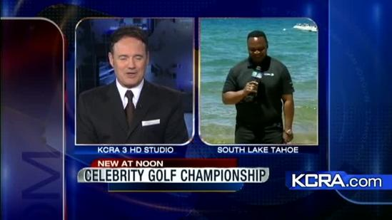 Celebrities gather in Tahoe For Golf Championship