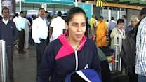 Saina Nehwal returns home, eyes for Hong Kong open