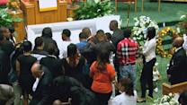 Funeral in Baltimore for suspect killed in custody