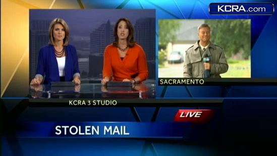 200 pieces of mail stolen, dumped along Sacramento bike trail