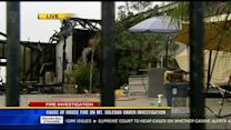 Cause of house fire on Mount Soledad under investigation